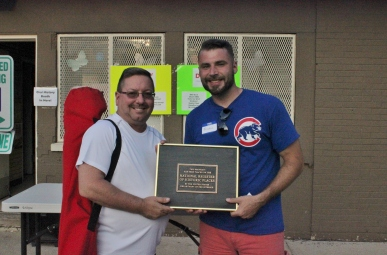 The winner of the National Register of Historic Places plaque! Courtesy Barb Ziegler.